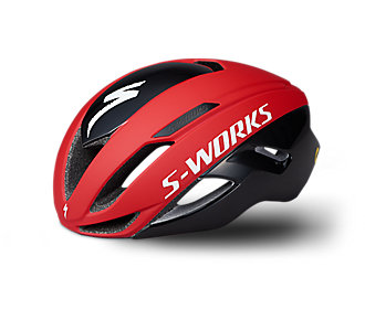 SW EVADE II HLMT ANGI MIPS CE BLK/RED TEAM S