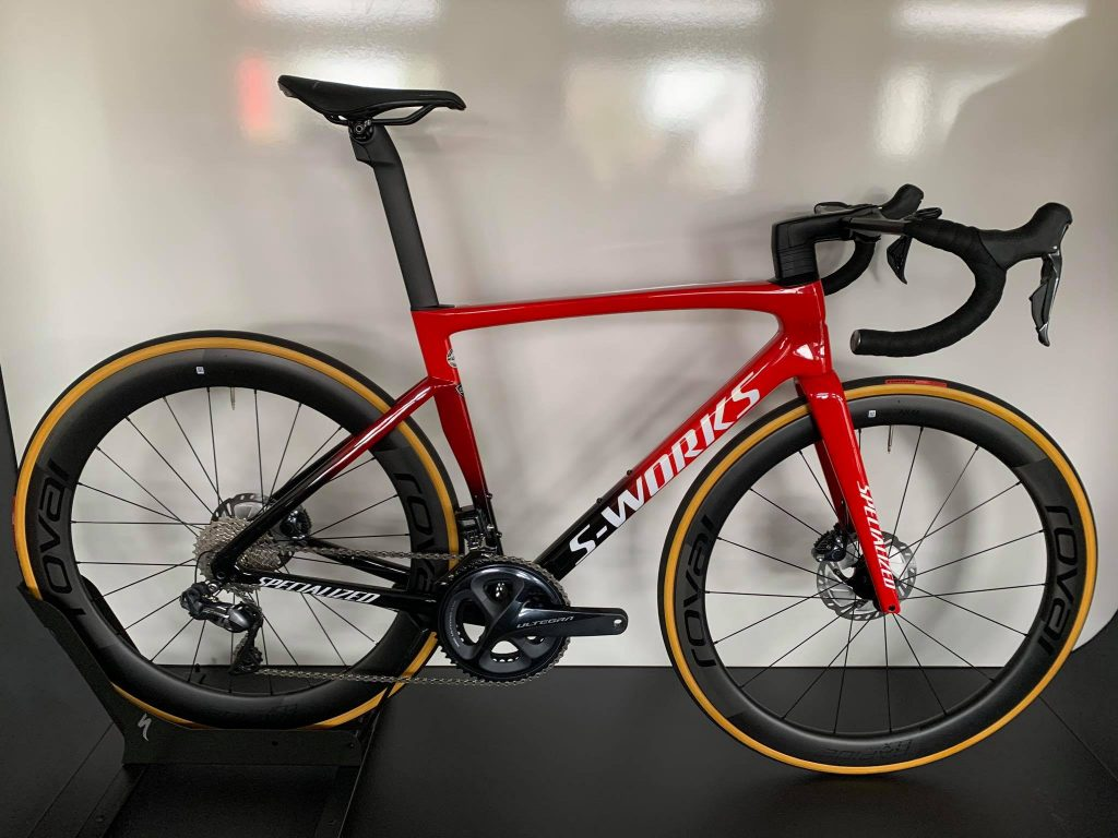 S-Works Tarmac SL7 Flo red/red tint